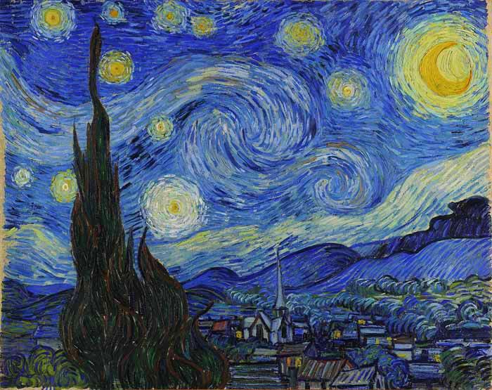 Élményfestés - Vincent van Gogh - KreatívLiget Élményfestő Stúdió