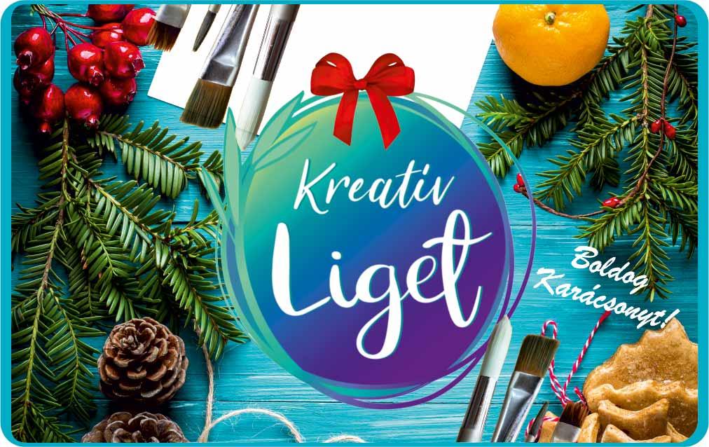 KreatívLiget Ajándékutalvány Karácsony